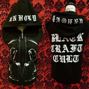 New with tags blackcraft cult hooded vest